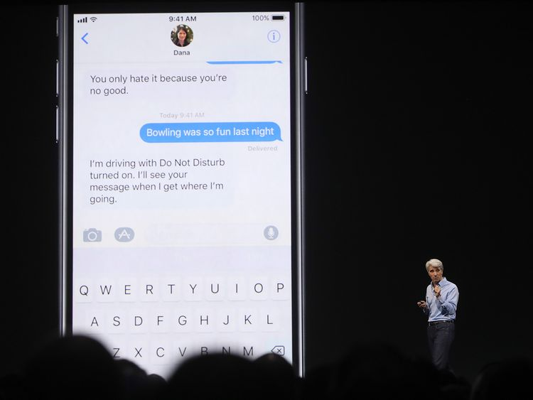 iOS 11 will include a safety feature called 'Do Not Disturb'
