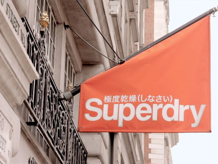 Superdry's profits are believed to have been lifted by a weaker sterling boosting foreign earnings
