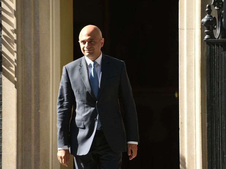 Sajid Javid is reappointed Communities and Local Government Secretary