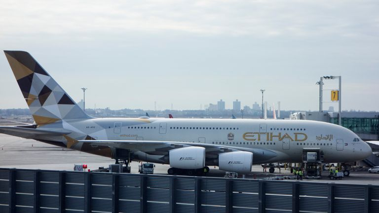 The UAE, home to Etihad Airways, had a laptop ban on flights to the US imposed in March