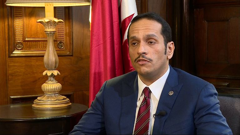 Mohammed Al-Thani says Qatar is a force for stability in the Middle East