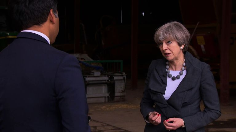Theresa May responds to questions about terror and what is being done to prevent further attacks