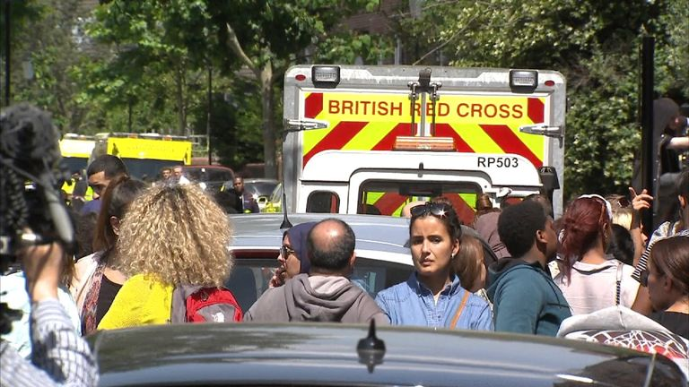 Aid agencies have joined the humanitarian effort in west London