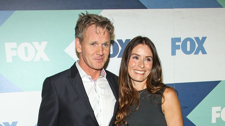 Chef Gordon Ramsay and wife Tana Ramsay
