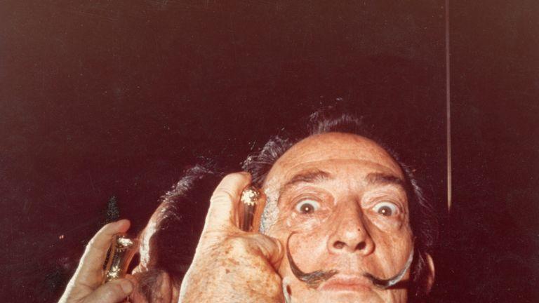 Salvador Dali in the 1960s