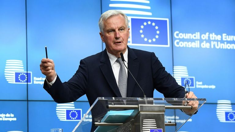 Michel Barnier - the EU's chief Brexit negotiator