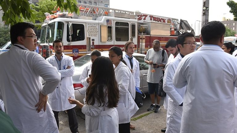 Doctors were targeted in the shooting