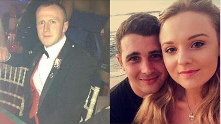 Corporals Darren Neilson and Matthew Hatfield died in a training exercise at Castlemartin Ranges