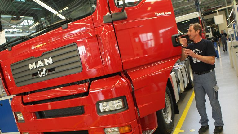 MAN is among truck manufacturers facing further price-fixing claims