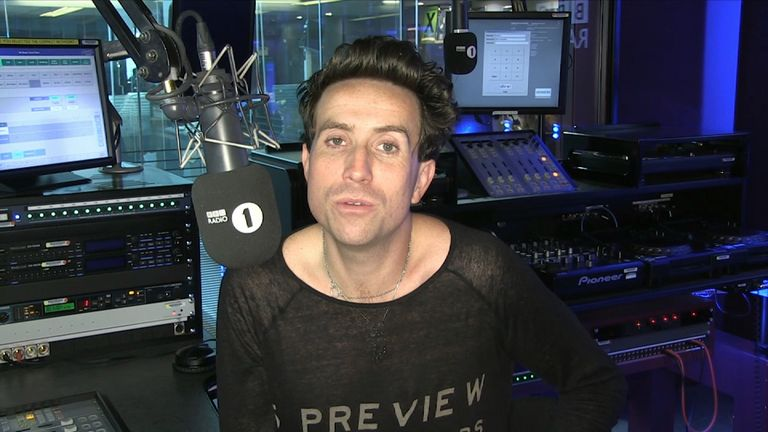 "Nick Grimshaw called Martyn a ""real inspiration"""