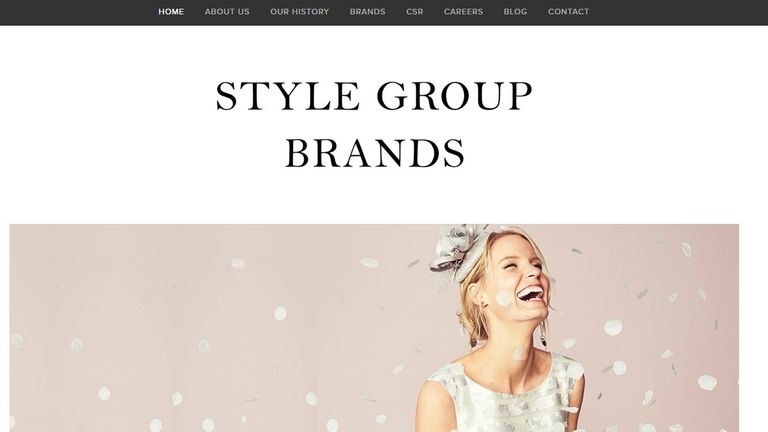 Style Group Brands' portfolio, includes Windsmoor, Eastex and Jacques Vert