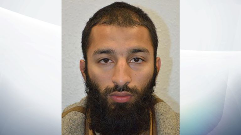 Khuram Shazad Butt who has been named as one of the two of the men shot dead by police following the terrorist attack on London Bridge and Borough Market.