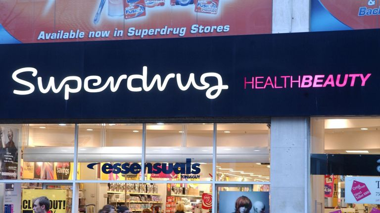 The pill will be available in more than 200 Superdrug pharmacies