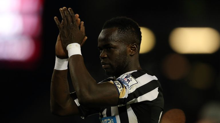Cheick Tiote played seven seasons for Newcastle