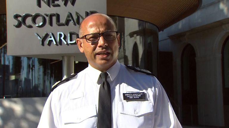 Senior national co-ordinator for counter terrorism, Deputy Assistant Commissioner Neil Basu