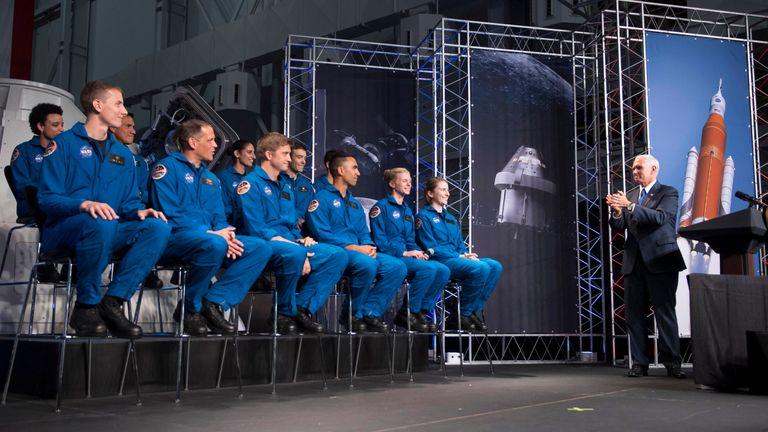 New NASA astronauts