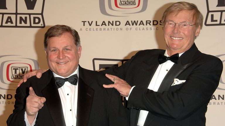 Burt Ward and Adam West of Batman in  2006