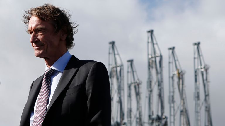 Ineos founder and CEO Jim Ratcliffe
