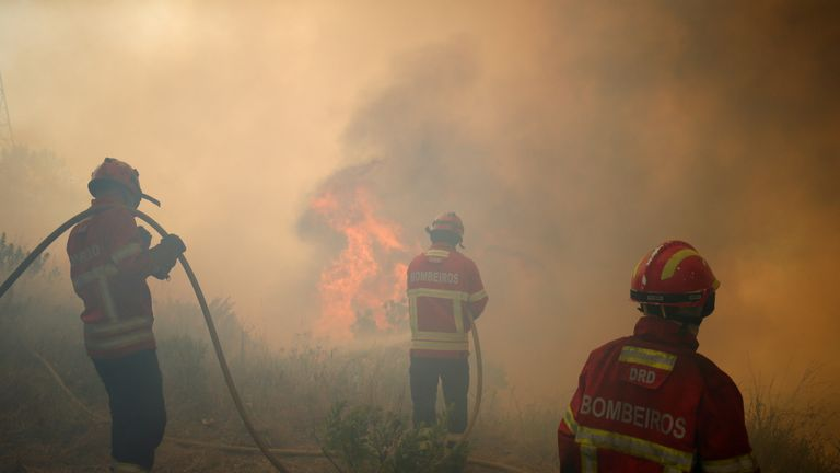 It was the biggest single blaze ever registered in the Iberian country