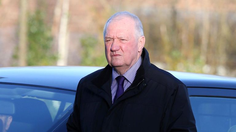 File photo dated 10/03/15 of former chief superintendent David Duckenfield arrives at the Hillsborough Inquest in Warrington