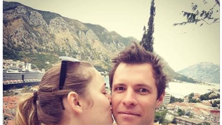 New Zealander Oliver Dowling and his girlfriend Marie Bondeville have been injured in the attack