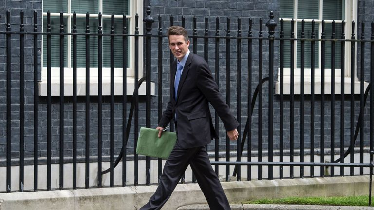 Chief whip Gavin Williamson. Pic: file.