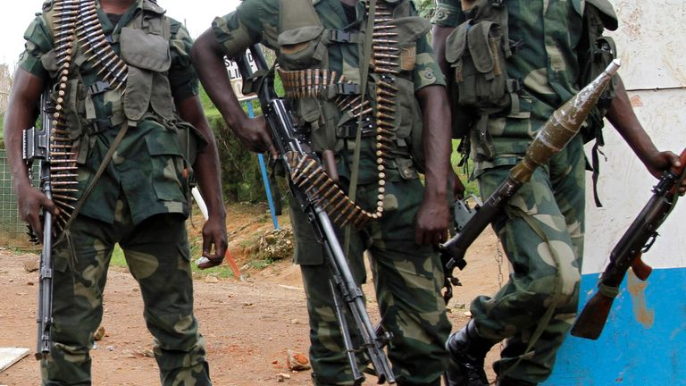 Congolese soldiers (file pic)
