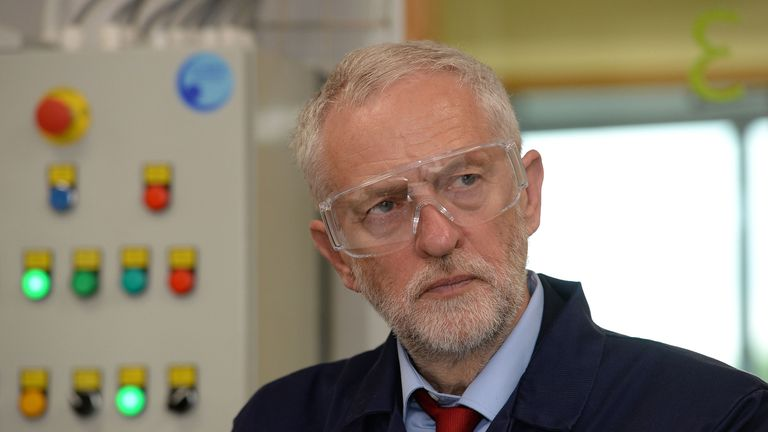 Corbyn: Majority of one million 'decent jobs' would go to UK workers