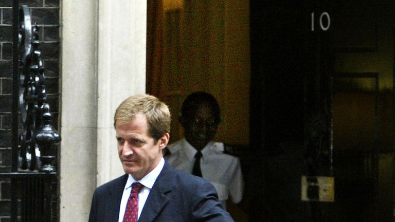 Alastair Campbell was Tony Blair's director of communications