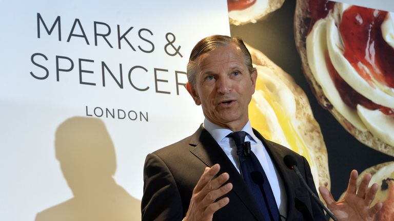 Marc Bolland former CEO of Marks and Spencer