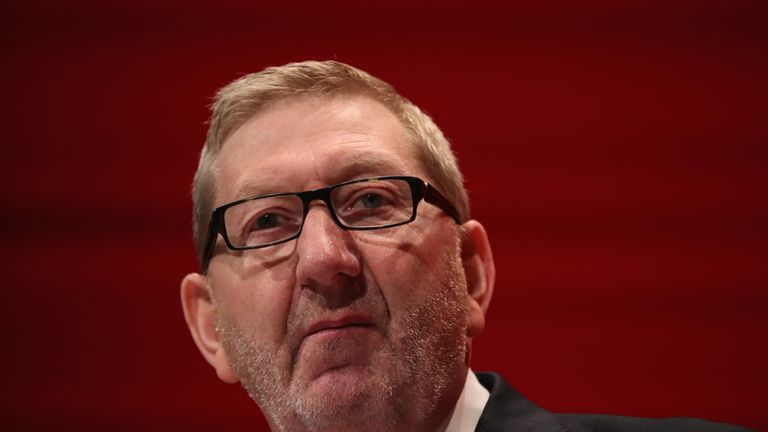 Len McCluskey, the General Secretary of Unite,