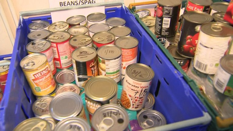 An 18-month study by The Trussell Trust show 80% of food bank users go hungry multiple times a year.