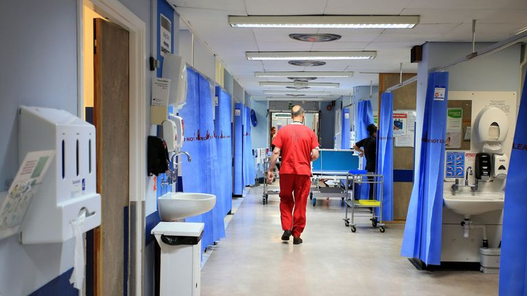 A hospital nurse