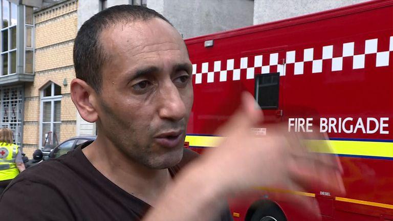 Mohamed Bouya Grenfell tower witness