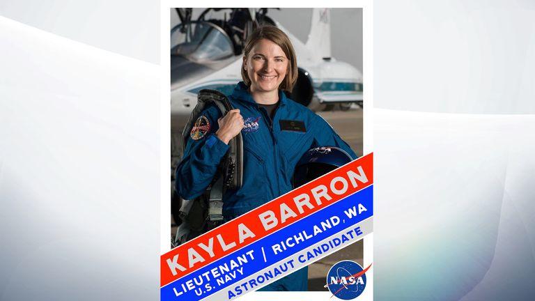 Kayla Barron