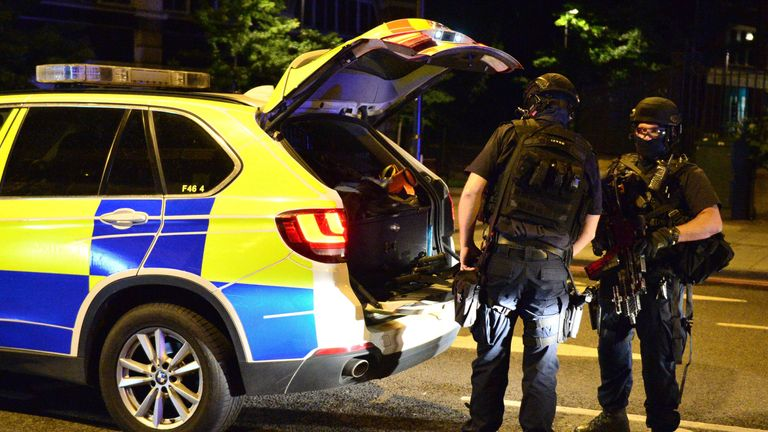 Armed police responded quickly to the London Bridge incident