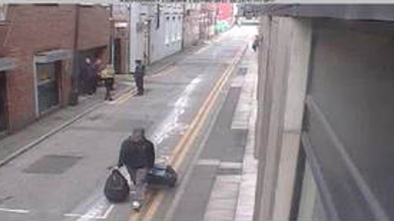 New images have been released by police to help jog people's memories