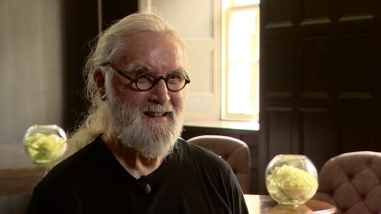 Billy Connolly is getting a knighthood