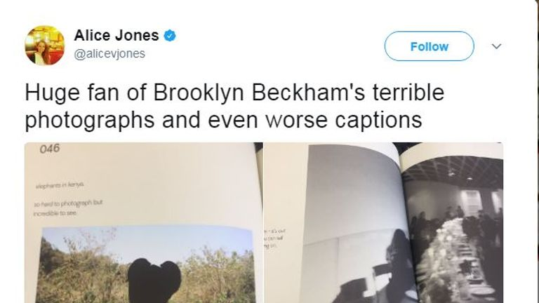 Some users photographed the book and shared it online