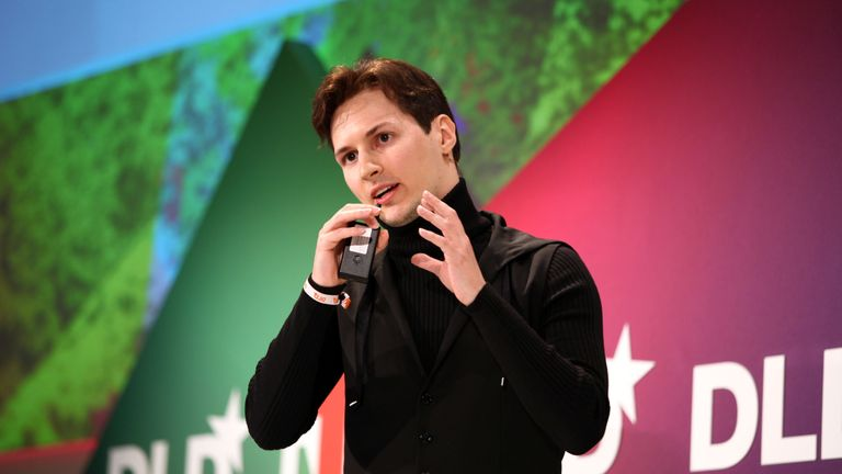 Telegraph founder Pavel Durov and has brother have previously clashed with the Kremlin