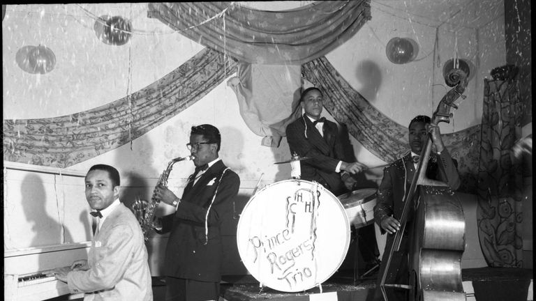 John  L Nelson (left) was part of jazz band The Prince Rogers Trio. Pic: Hennepin County Library