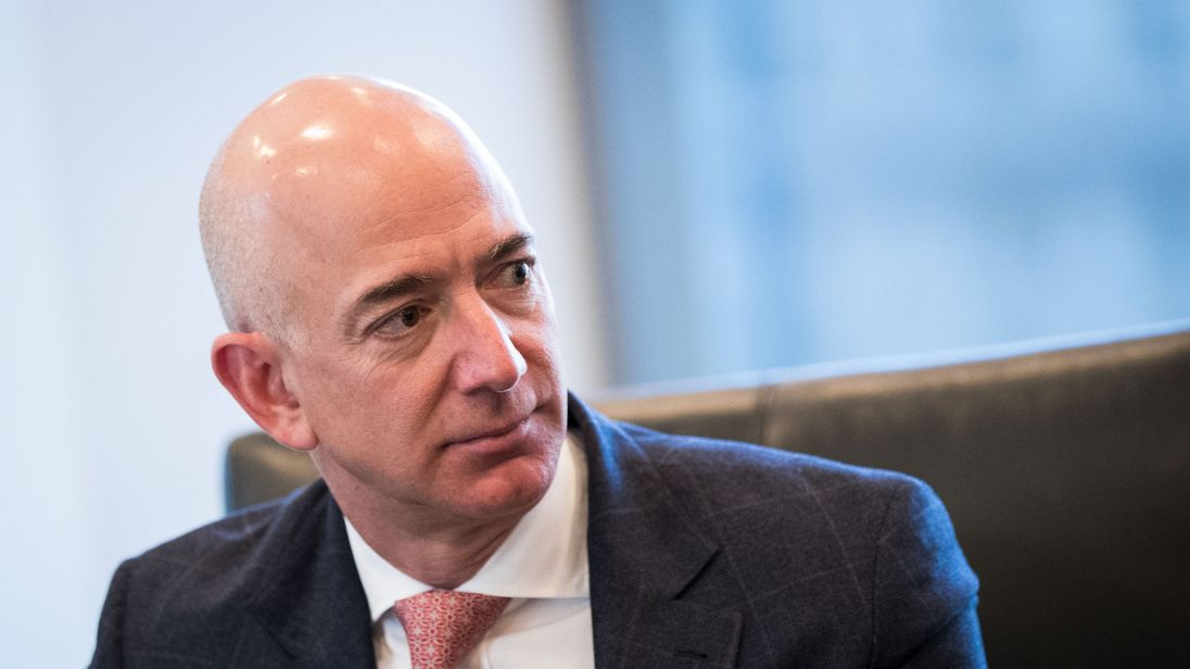Jeff Bezos I'm Now the $100 Billion Man!!!