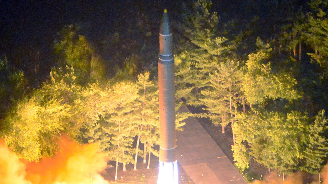 Experts say the ICBM launched by the North is capable of reaching major US cities