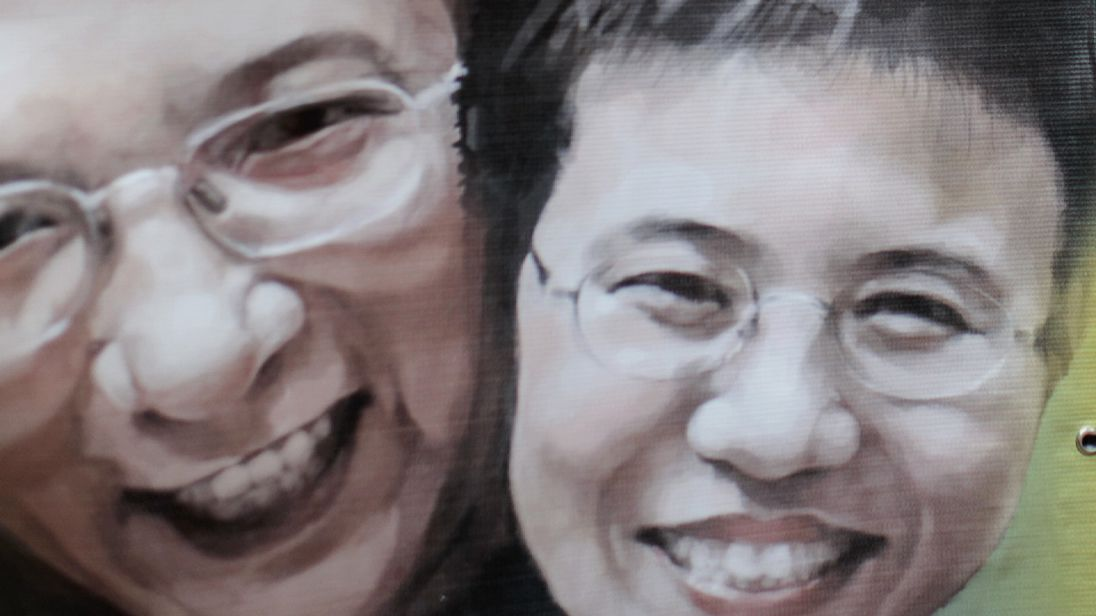Liu Xiaobo's wife is still under house arrest despite no conviction of any crime.