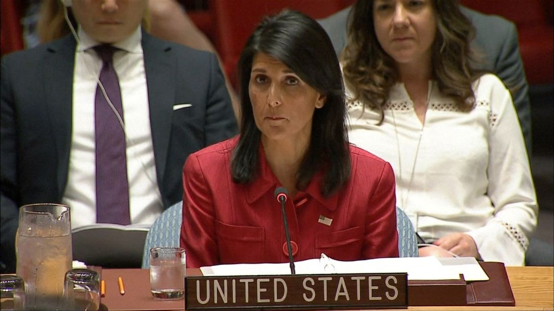 US ambassador to UN talks tough on North Korea