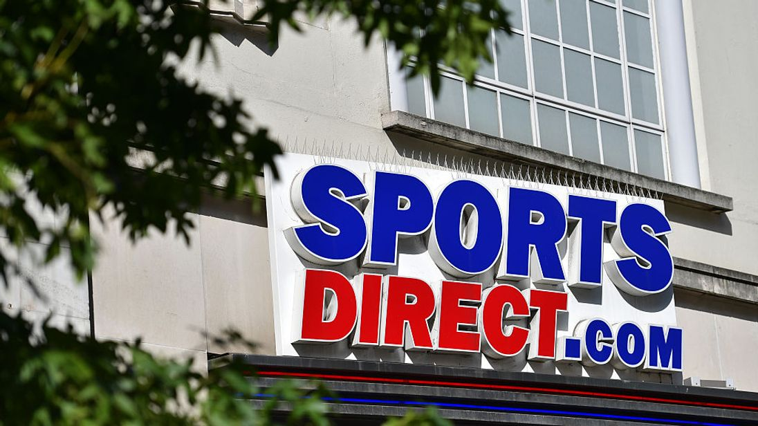 Sports Direct UK sales falter dragging profits down 67%