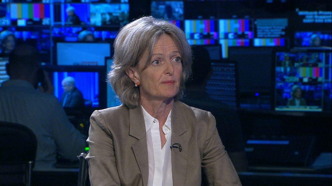 Elizabeth Campbell, the new leader of Kensington council