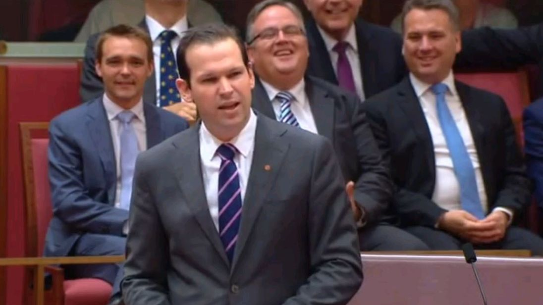 Matt Canavan makes his maiden speech to the Australian Senate