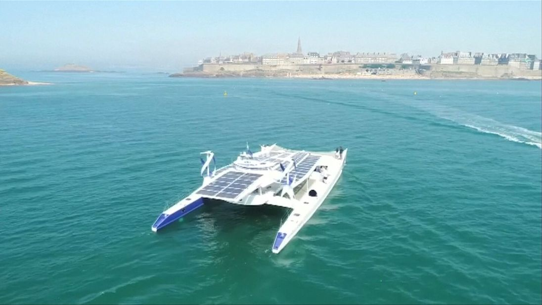 World's first zero emissions boat to tour the world