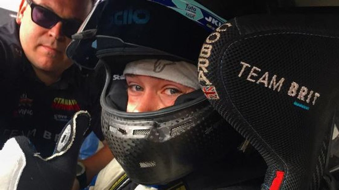 Billy is now looking to compete in the 24-hour race at Le Mans